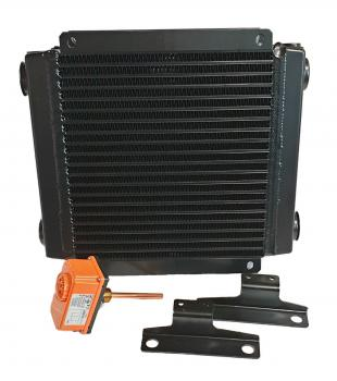 Hydraulic oil cooler, Air oil cooler, 24 Volt, Type 4020