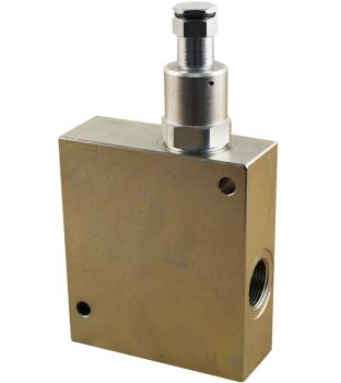 Single counterbalance valve with regenerative function, 3/4