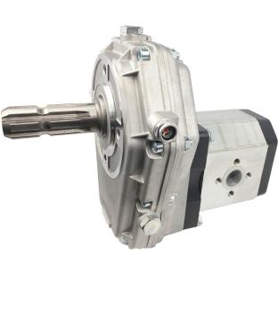 Gear Box P.T.O with Hydraulic Pump (Gear Pump) group 3 selectable displacement