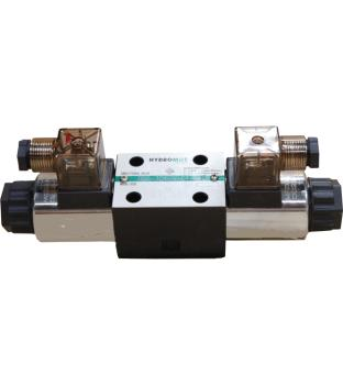 Solenoid Valve, Cetop 3, 3C60, A-B closed, P-T connected
