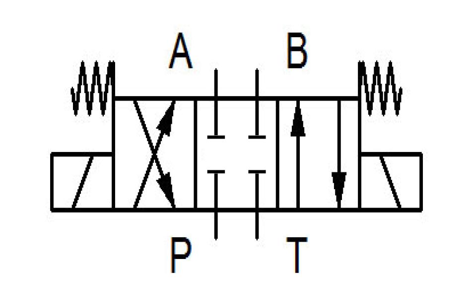 Schaltbild Wegeventil DSG-3C2-N03-24V