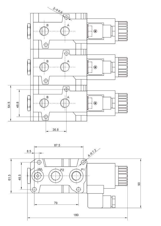 Hydraulik Shop Hydromot - Hydromot 6/2 Wegeventile, Umschaltventile ...
