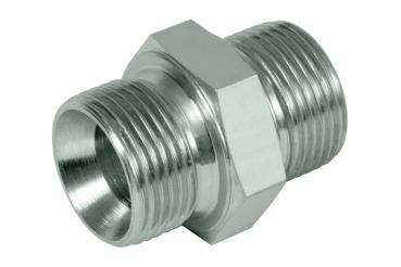 Straight union, cone end 1/2""