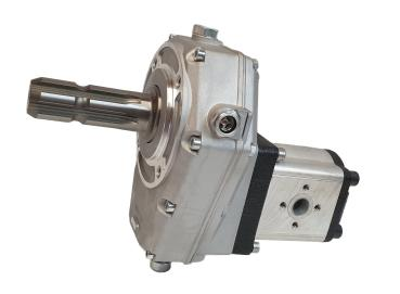 Gear Box P.T.O / Gear Pump group 2 selectable displacement