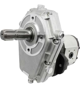 Gear Box P.T.O with Hydraulic Pump (Gear Pump SAEB) group 3 selectable displacement