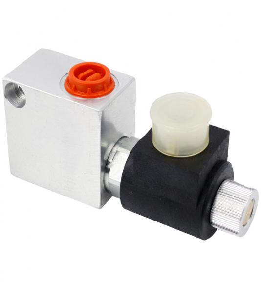 "Solenoid valve, 2/2 way seat valve, Hydraulic valve, Normally closed, Ports G 3/8"", 40 l/min"